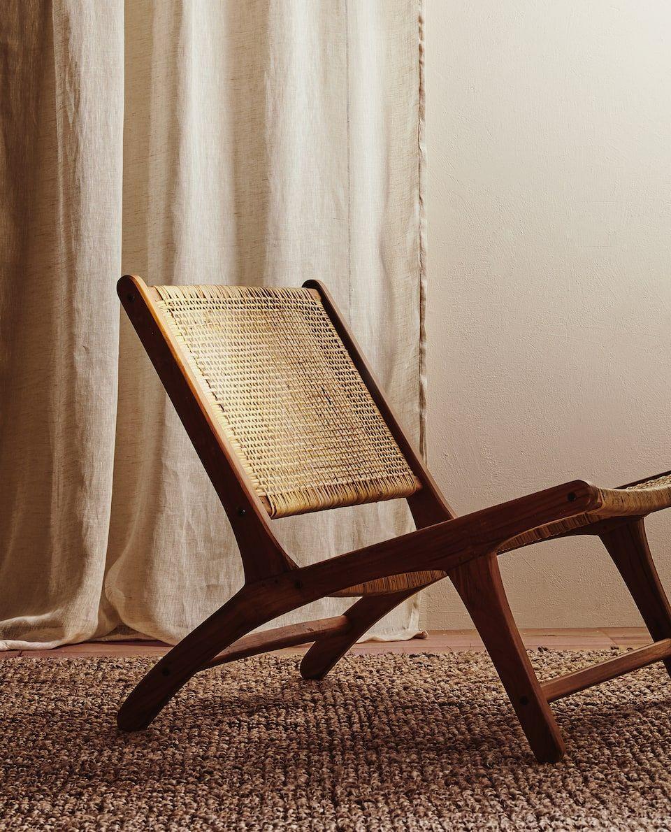 Chaise En Rotin Meubles Salon In 2020 Rattan Chair Furniture Chair Zara Home