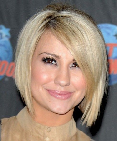 2014 short blonde bob hairstyle for women from chelsea kane | short