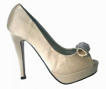 damske bezove spolocenske lodicky womens beige formal party pumps #pumps