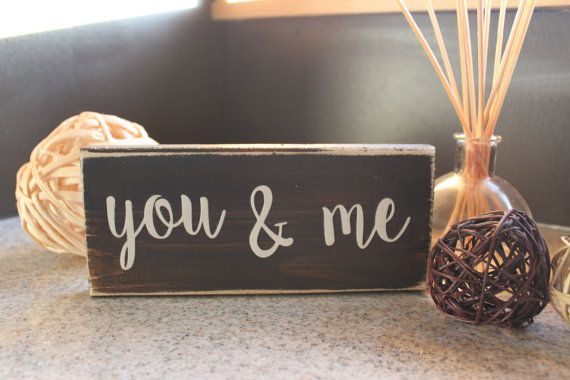 Hey, I found this really awesome Etsy listing at https://www.etsy.com/listing/259423201/rustic-you-me-sign-valentines-day-sign