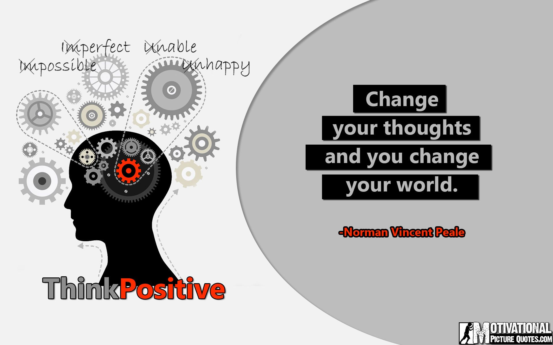 Power Of Positive Thinking Quotes Simple Power Of Positive Thinking Quotesnorman Vincent Peale  Quotes