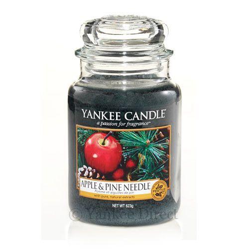Jar Candles | Yankee Candles UK | Yankee Candle Apple and Pine Needles Large Jar