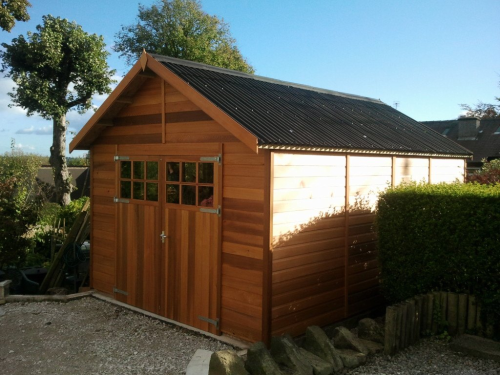 Wooden Garages UK, Timber Garages For Sale in 2020