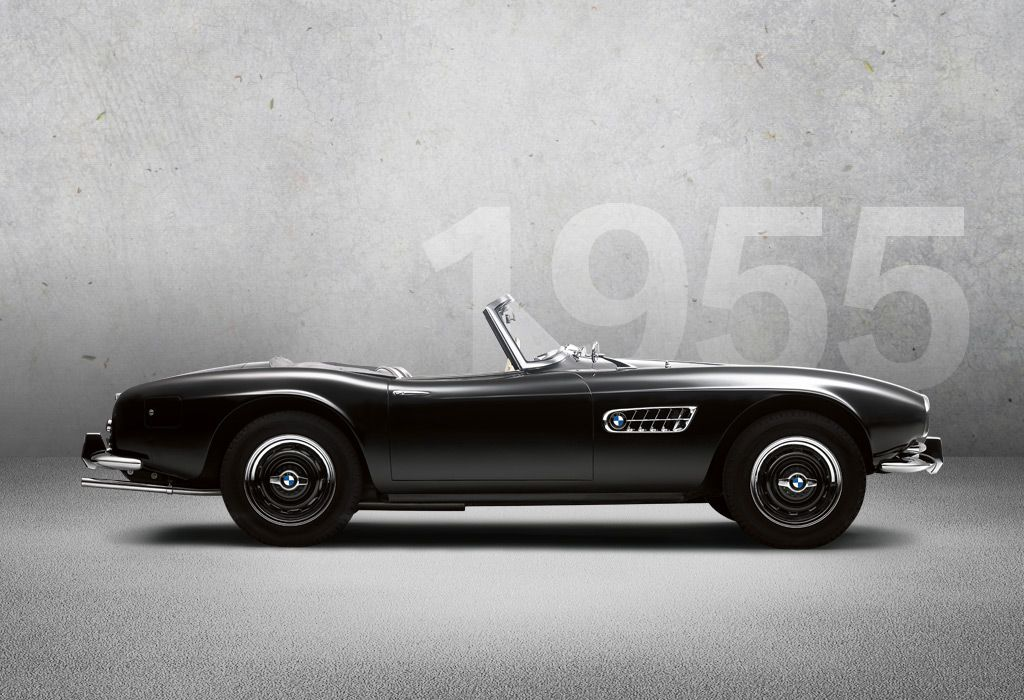 1955 - BMW 507 Roadster - The \'Dream of Islar\' In 1955, BMW achieves ...