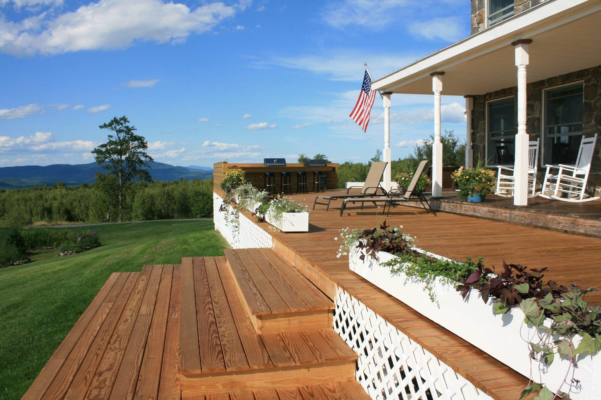 Inn at Pinnacle Mountain, West Paris, Maine. Innkeepers created a ...