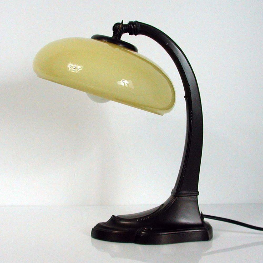 Art nouveau art deco bronzed table lamp bedside lamp mood