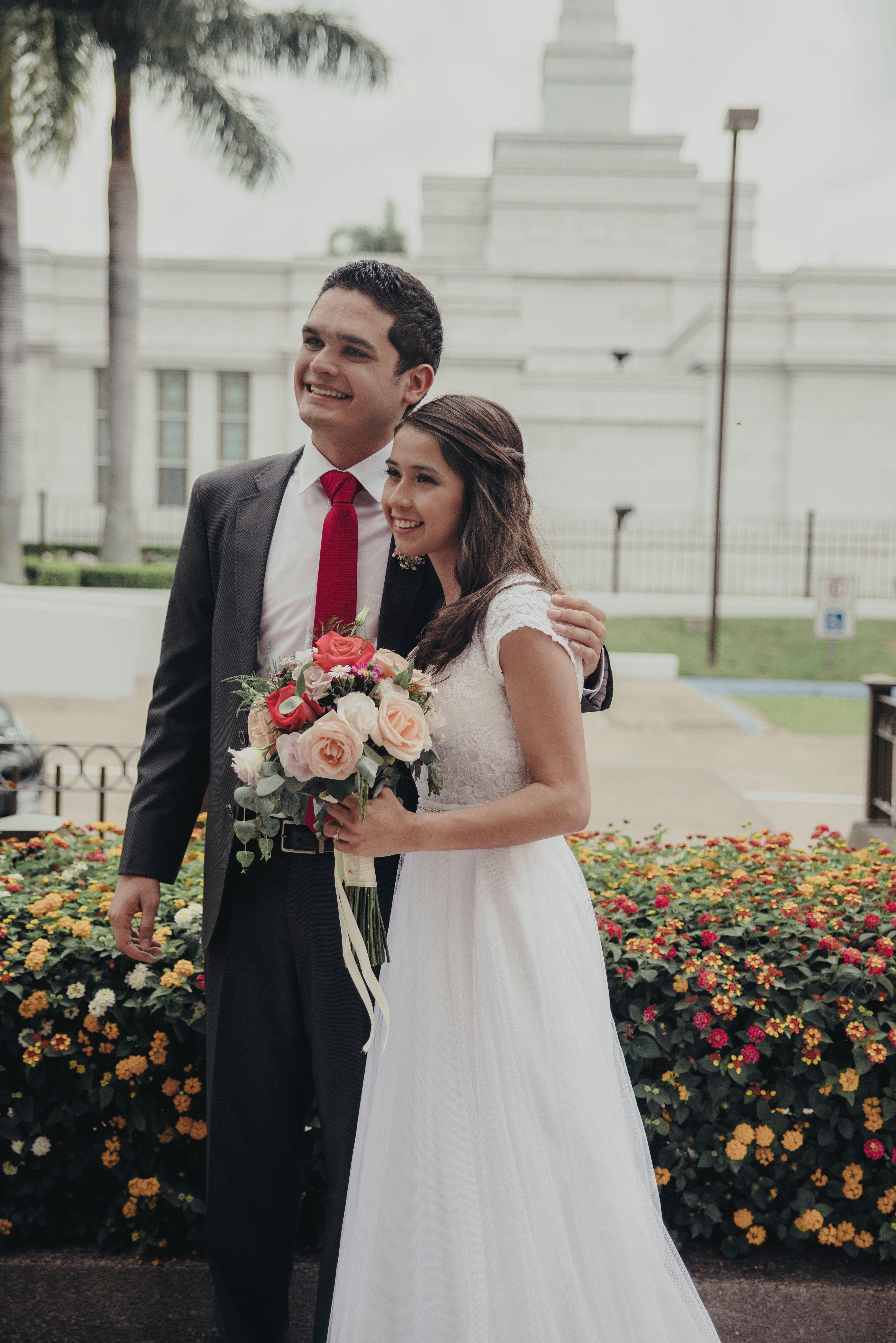Costa Rica Temple Sorroundings Lds Wedding