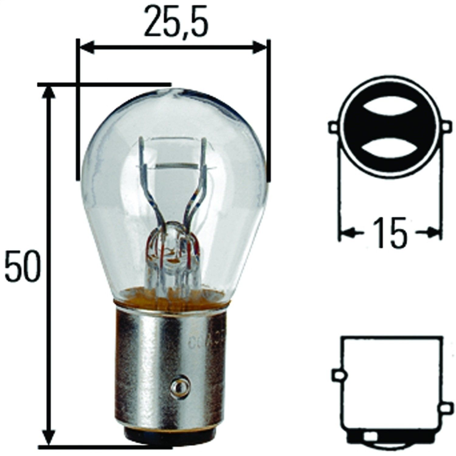 Hella H83055011 S8 Series 21 5 Watt 24 V P21 5w Type Incandescent Bulb Proceed To The Product At The Image Link This I In 2020 Incandescent Bulbs Bulb Light Bulb