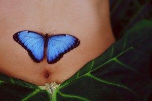 Small Butterfly Tattoos | Fantástica Tatuagem de Borboleta Realista