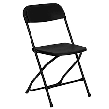 Groovy Black Folding Chairs Available At Rent All Plaza Kennesaw Andrewgaddart Wooden Chair Designs For Living Room Andrewgaddartcom