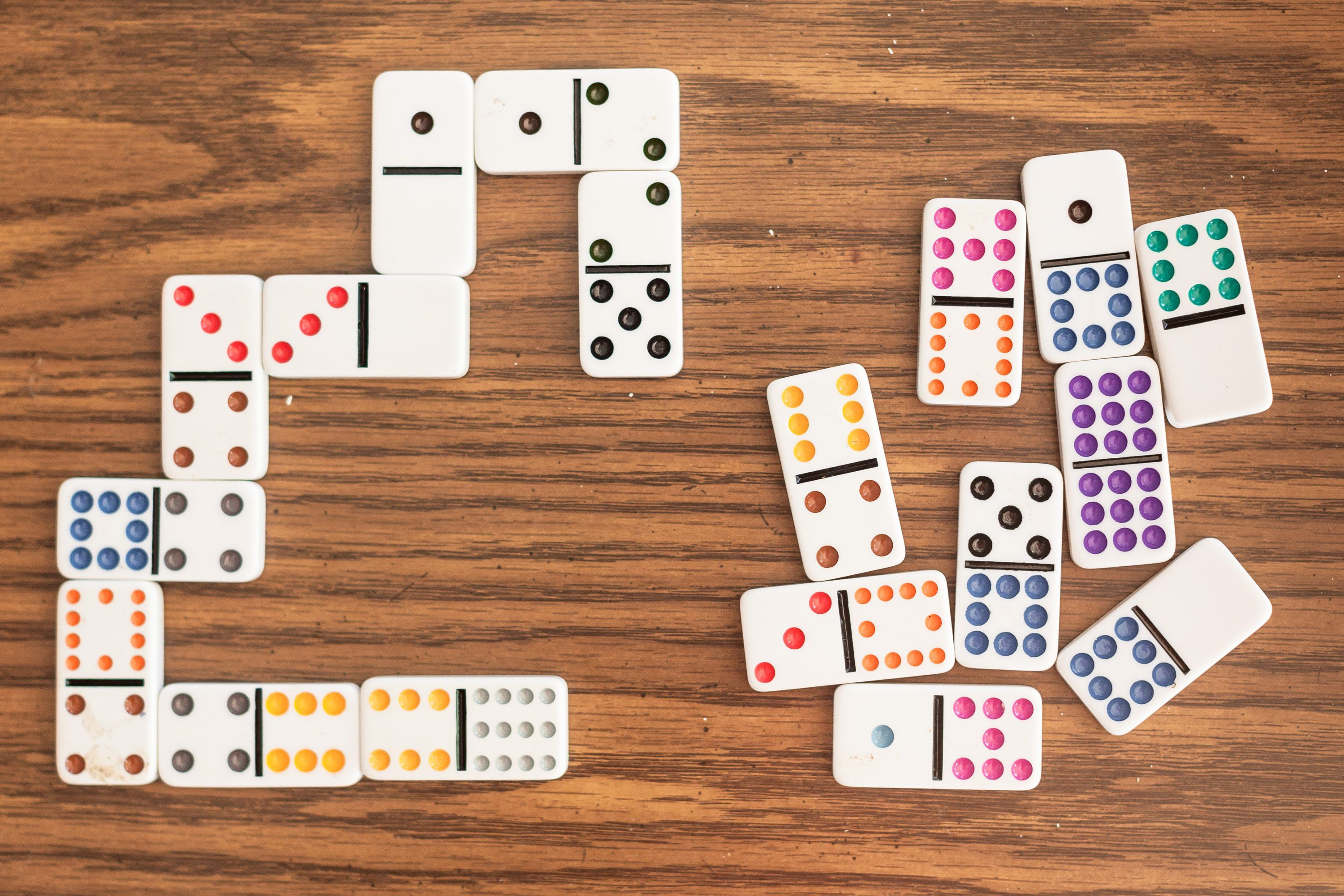 Dominoes is an ideal game to play with kids, because the rules are simple.  Older children can play this gam… | How to play dominoes, Dominoes for  kids, Domino games