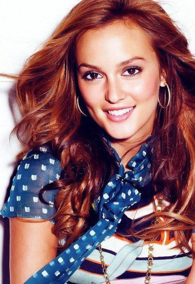 Leighton Meester Love Her And Her Hair Color Here Leighton