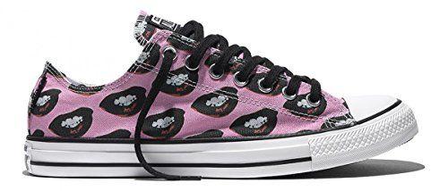 55b6a043062b60 Converse Unisex Andy Warhol Marilyn Monroe Lips Canvas Sneakers low ...