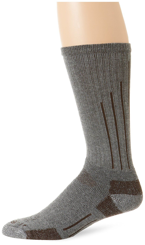 Carhartt Mens 2 Pack Full Cushion Steel-Toe Synthetic Work Boot Socks