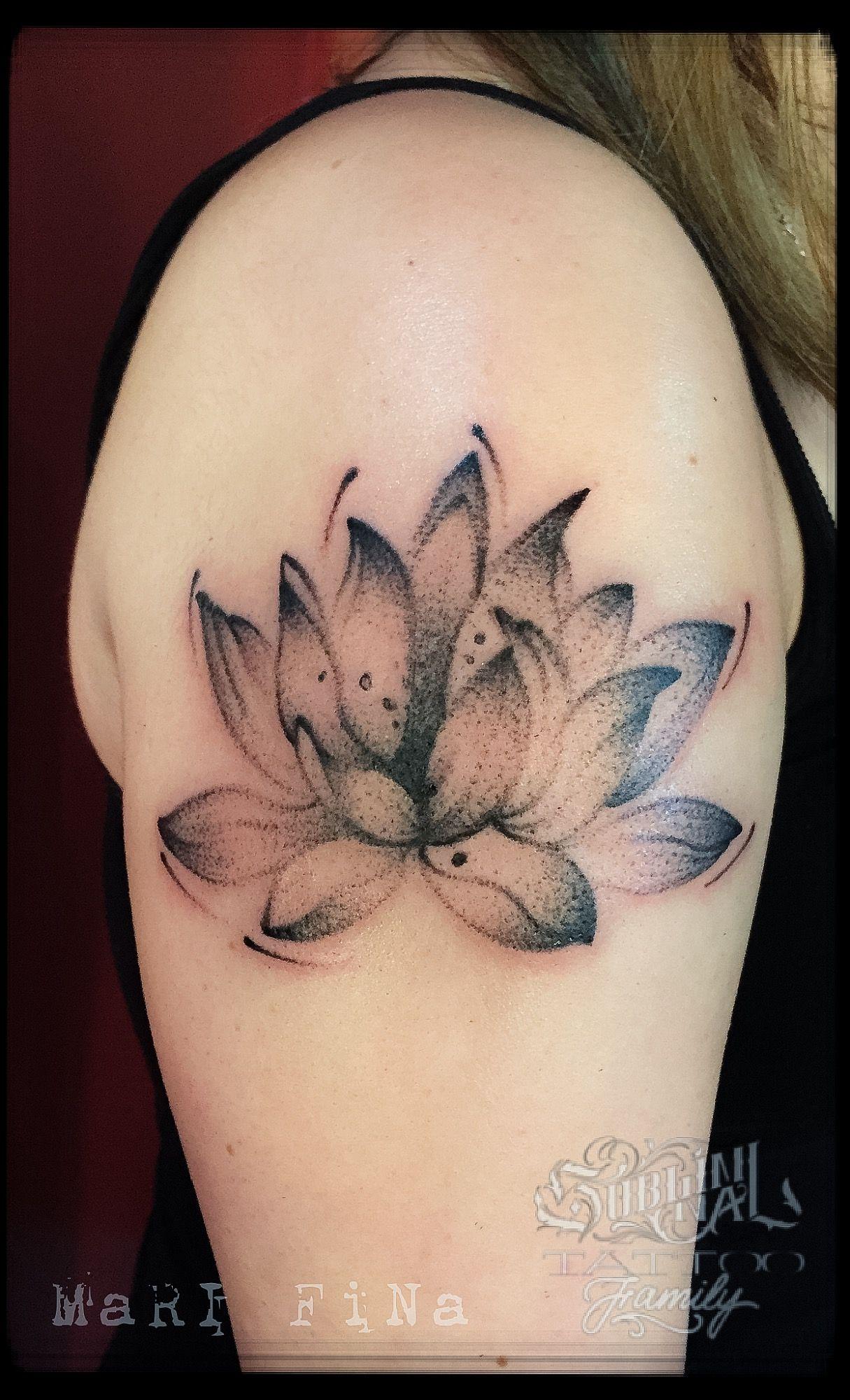 Lotus Flower Tattoo Tattoo Artist Mari Fina Wwwsubliminaltattoo