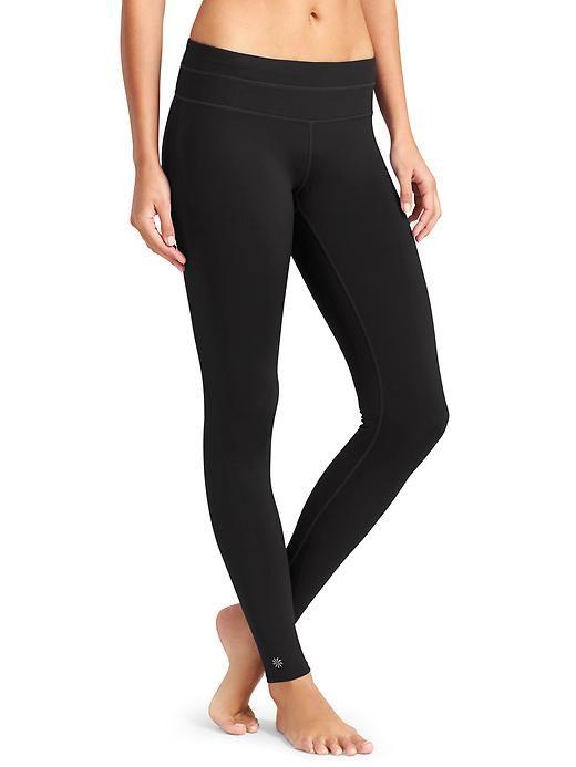 74b0fa516cd8d @Athleta Sonar Tight Printed Yoga Pants, Black Leggings, Tight Leggings,  Leggings Are
