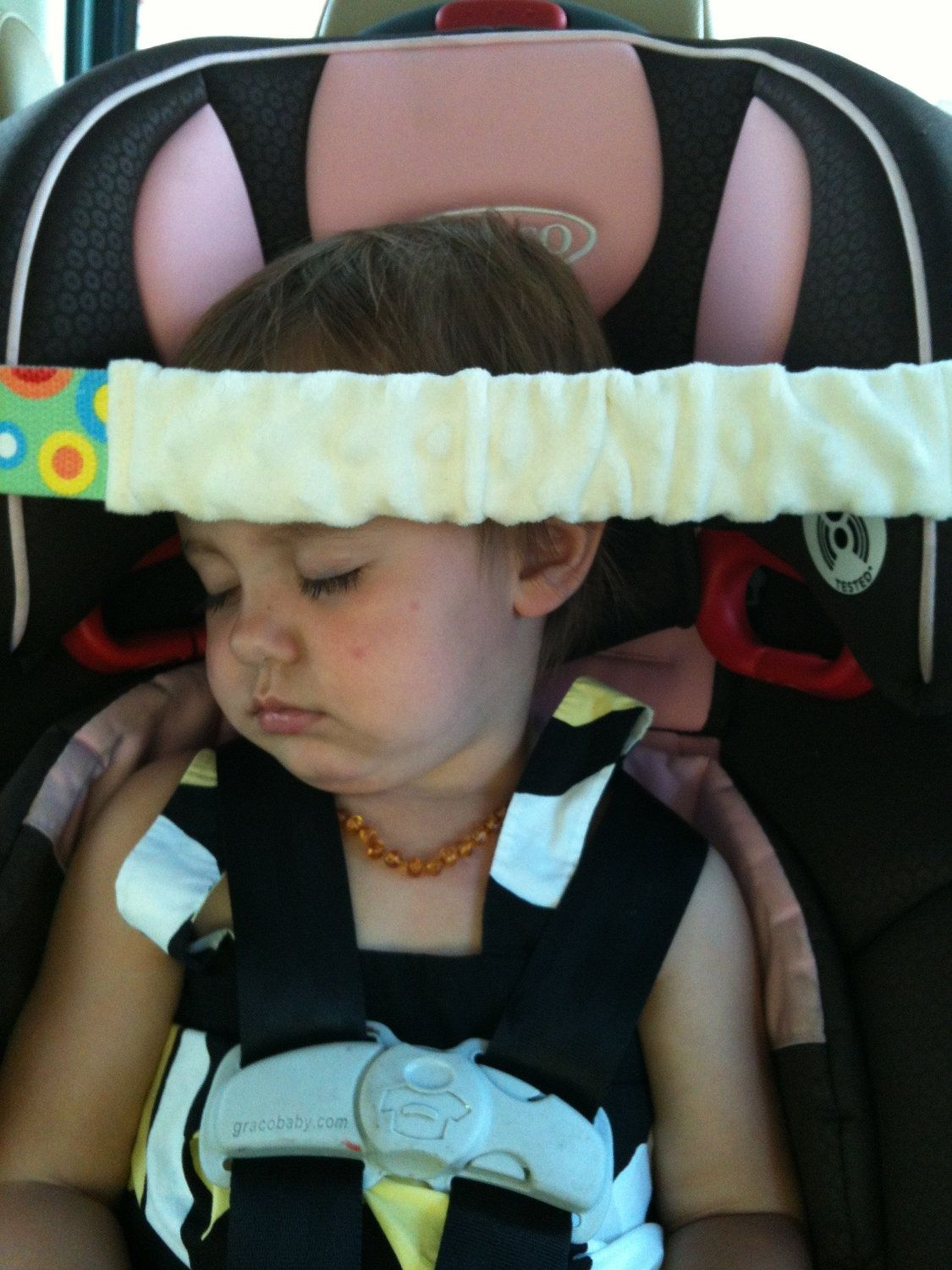 Soft Forehead Support For Your Car Seat Napper Can I Make This