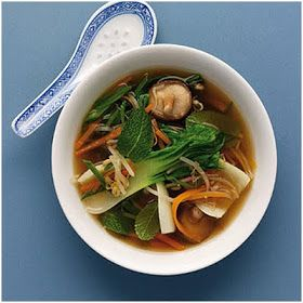 Chinese Food Recipes 中餐食谱: Vegetable Soup Recipe