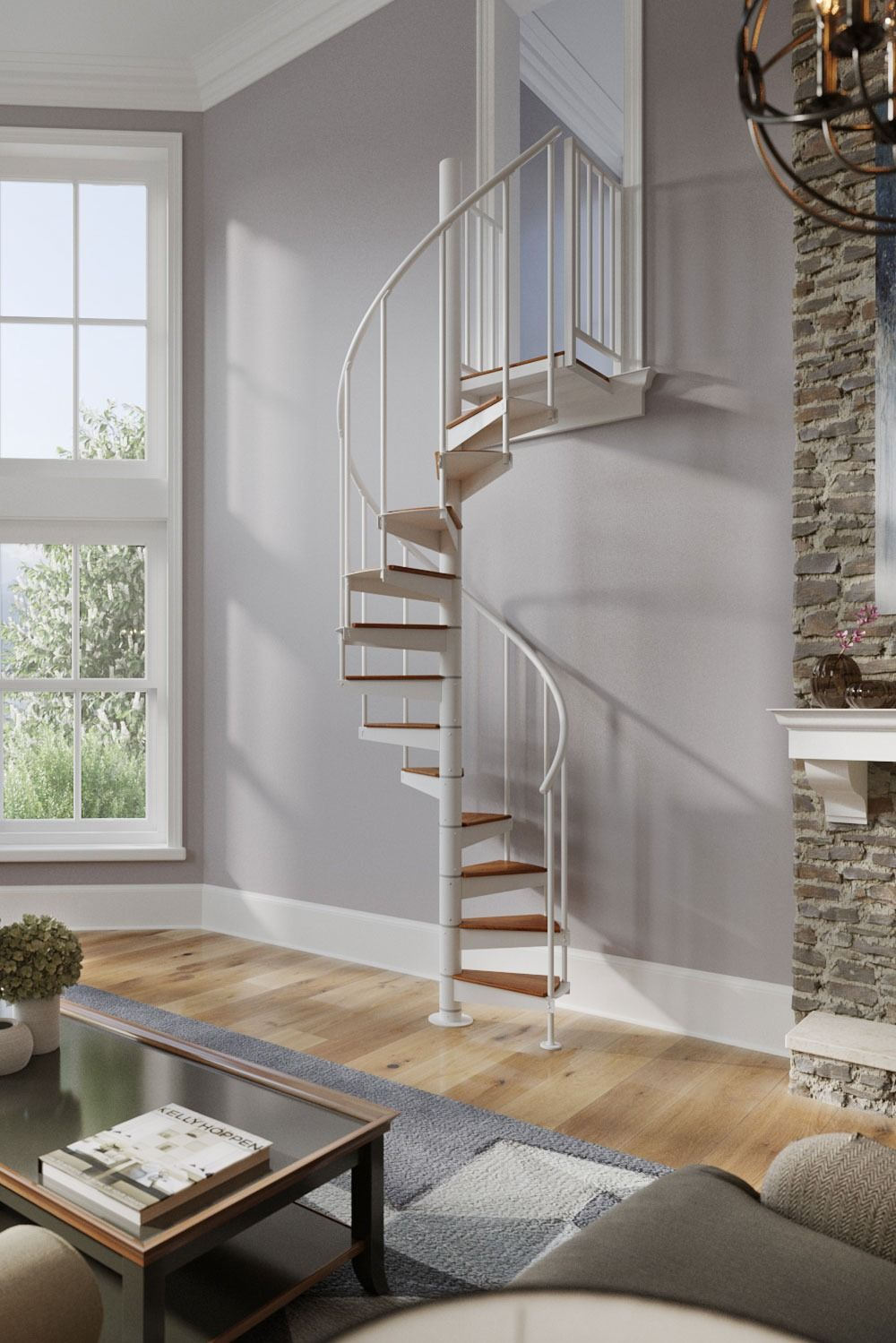 Mylen Spiral Stairways in 2020 Loft conversion stairs