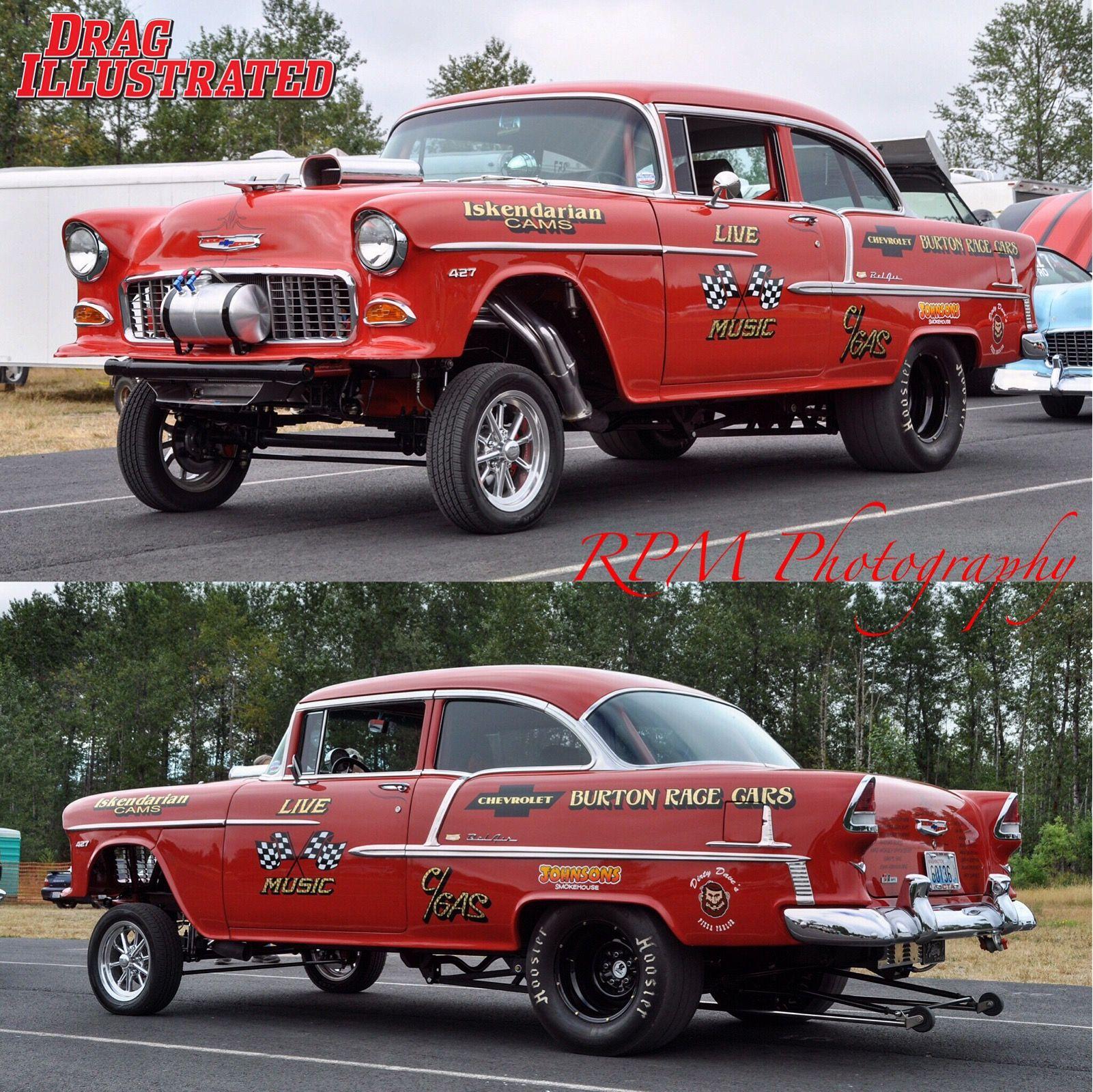 Cars, 1955 Chevy, Drag Cars