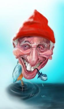 Jacques Cousteau by Swathi Jai Kumar K