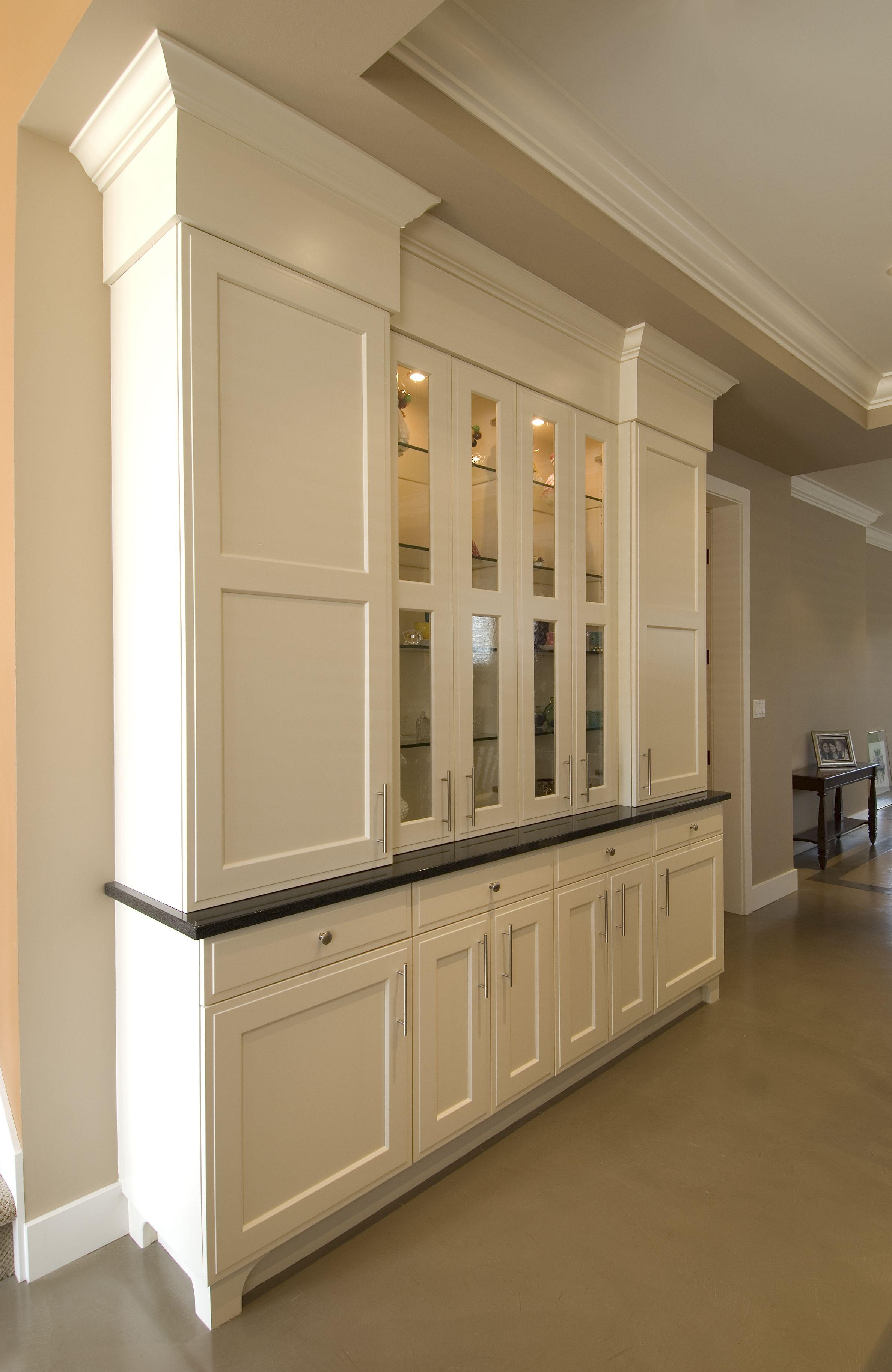 Painted :: Shaker Door Style :: Custom Cabinets #kitchen #cabinets #custom
