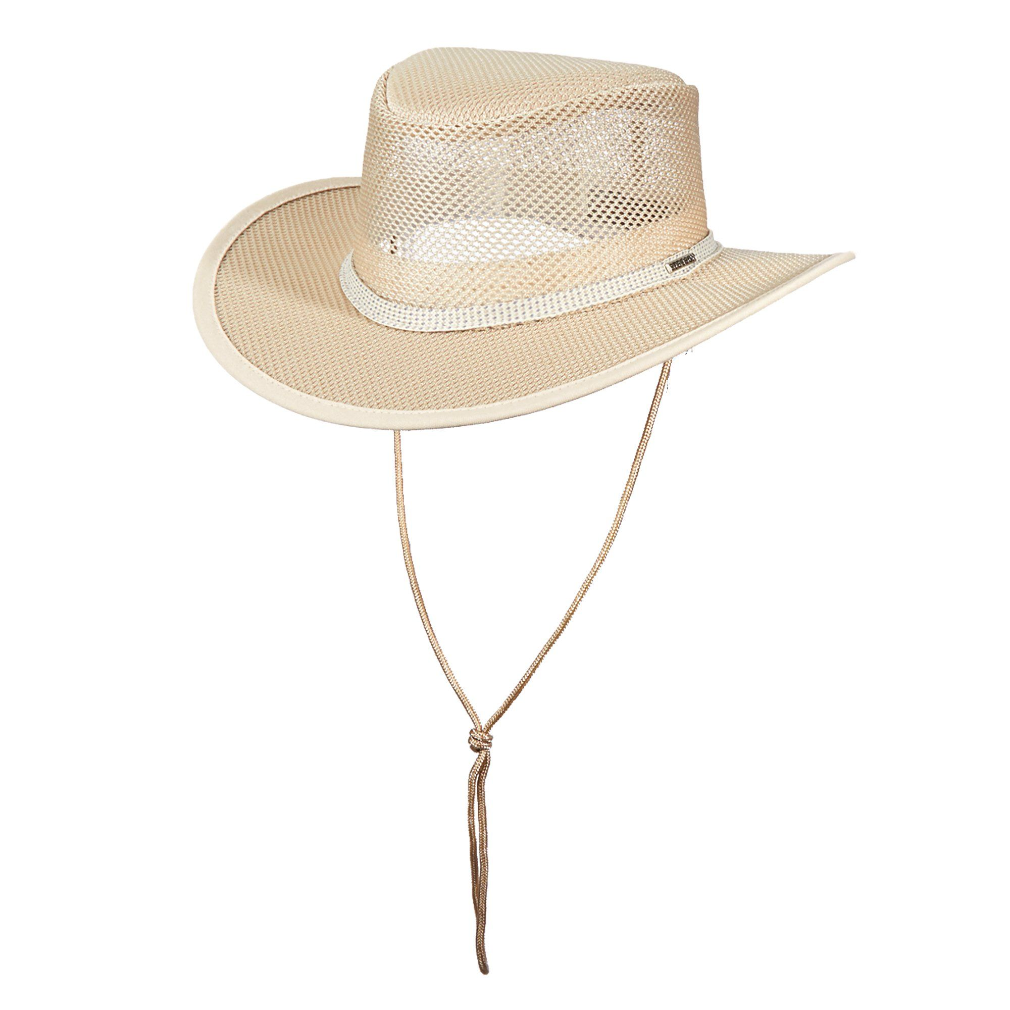a21d3b97 This safari hat is your go-to hat for warmer climates. Keep cool in the  blazing sun with the coolmax technology and all around mesh.