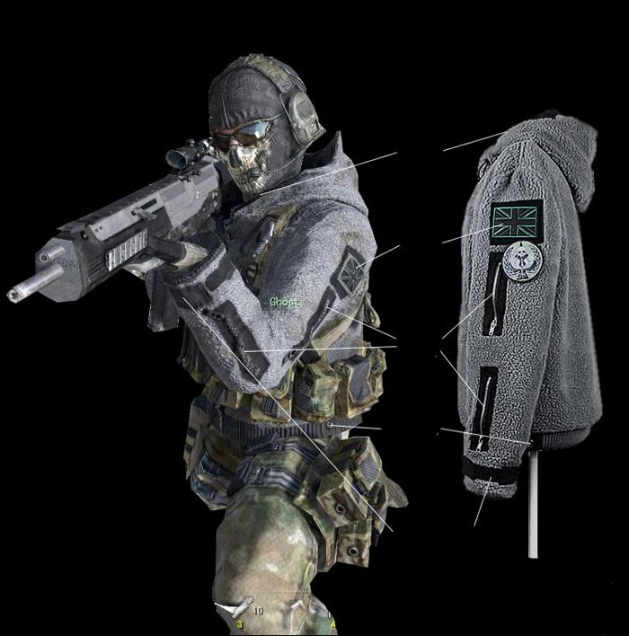 Call of duty costume call of duty jacket modern warfare 2 call of duty costume sciox Image collections