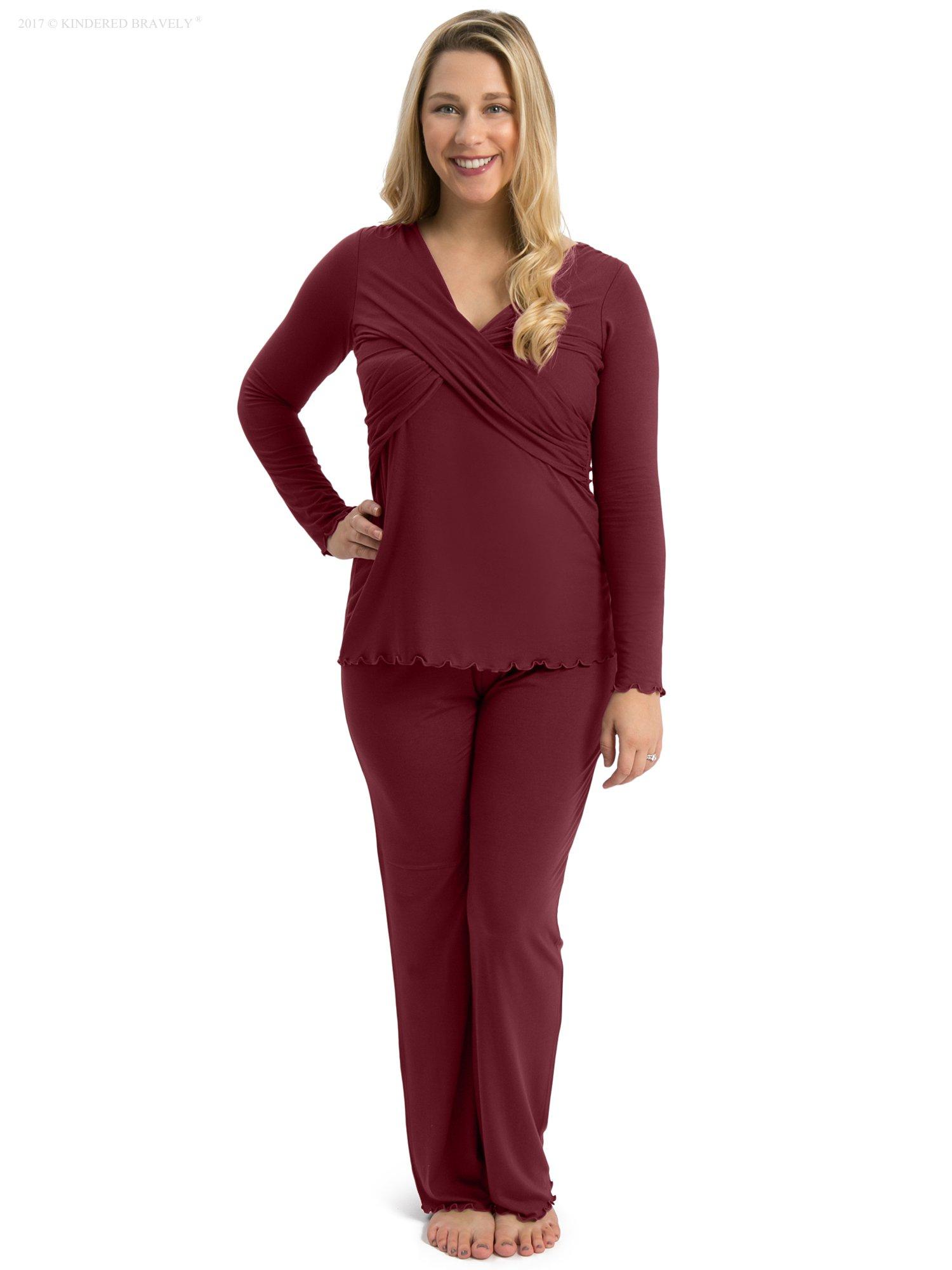 b6e23212d4cfd The Davy Long Sleeve Nursing & Maternity Pajamas (Pant Set ...