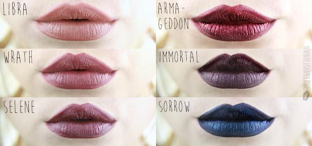 Blushaholic Liquid Lipsticks Black Moon Cosmetics