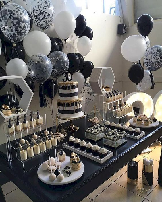 10 Cute Birthday Decorations Easy DIY Ideas for Kids, Teens, Women and Men #21st…