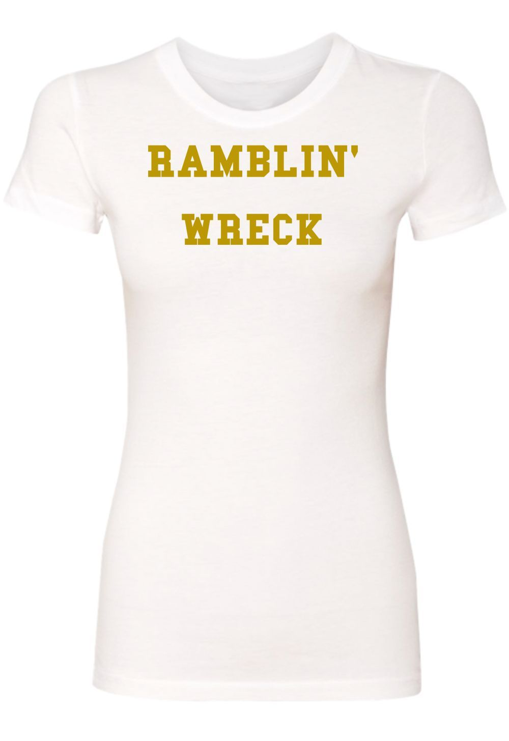 Georgia Tech-Ramblin' Wreck Ladies Perfect Tee [Runs Small]