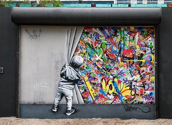 Street art by Martin Whatson | Cuded