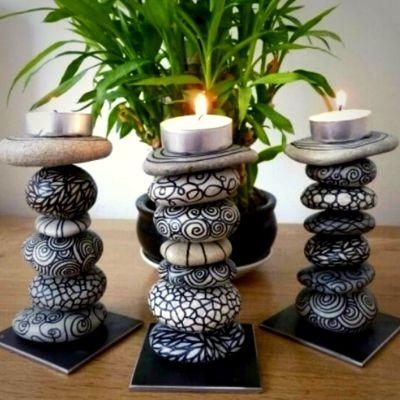Taşlarla Yapabileceğiniz Bahçe Dekorasyon Fikirleri