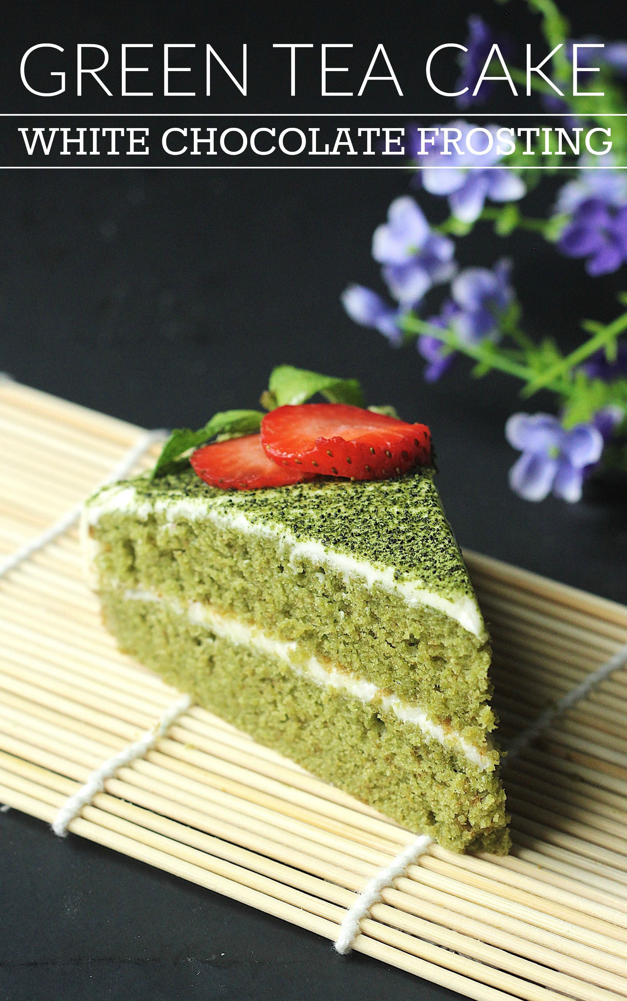 Green Tea Cake Best Recipe