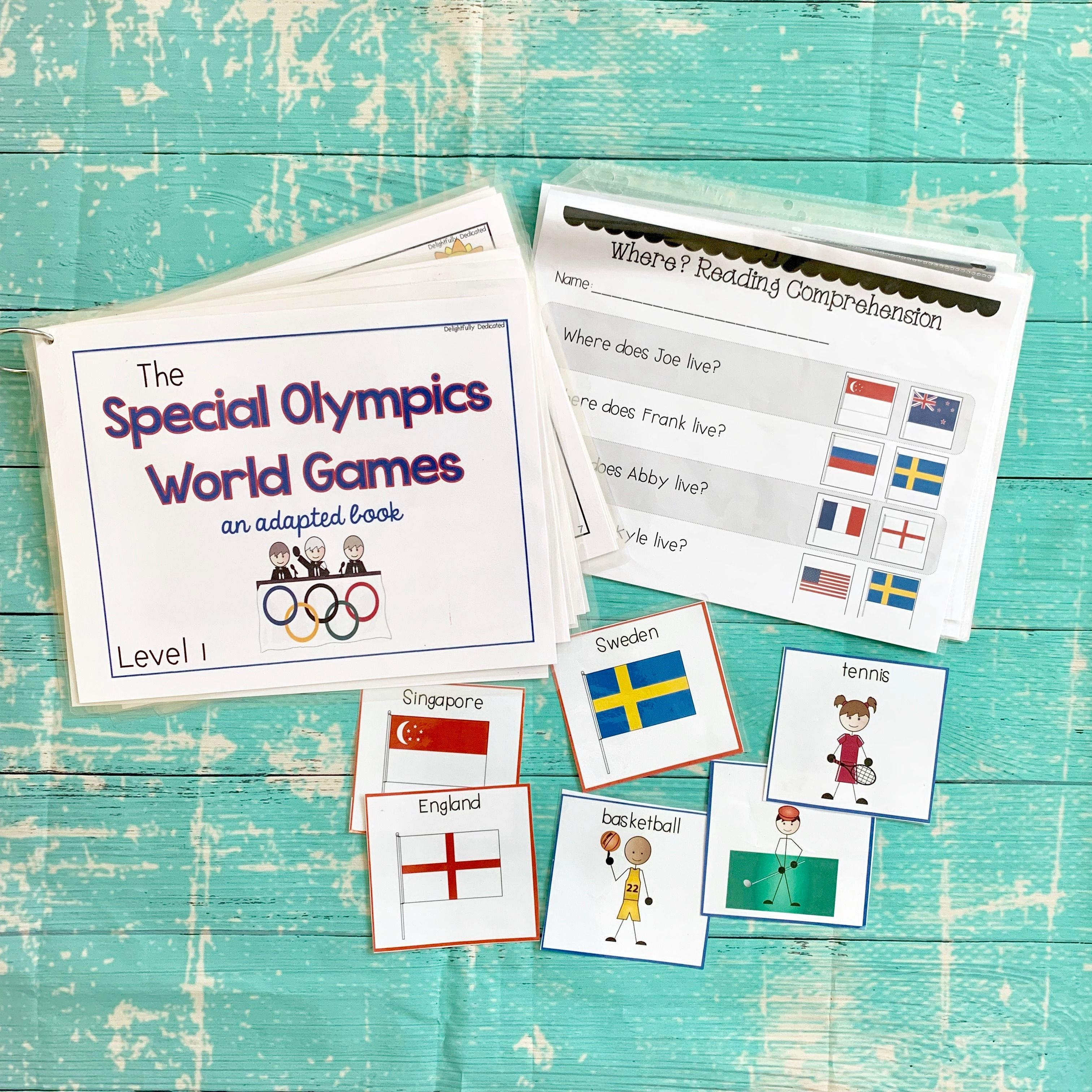 Special Olympics World Games Adapted Books For Special Ed