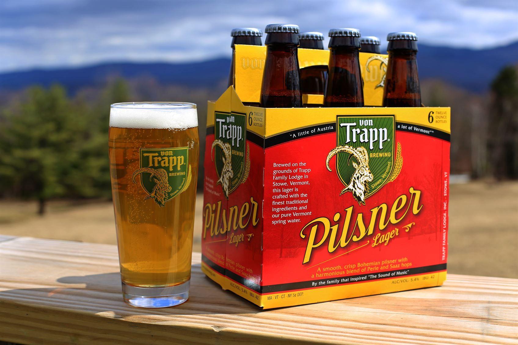 Bohemian Pilsner Beer By Von Trapp Brewing Pilsner Beer Beer Lager