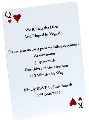 Casual Wedding Invitation Wording The Wedding Specialists