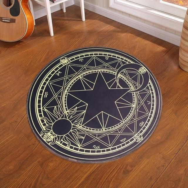 Pentacle Magic Round Carpet