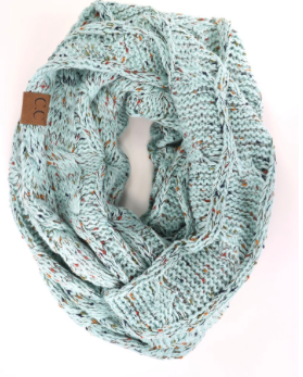 290ce1044 Flecked Infinity CC Scarf | Products | Pinterest | Beanie, Winter ...