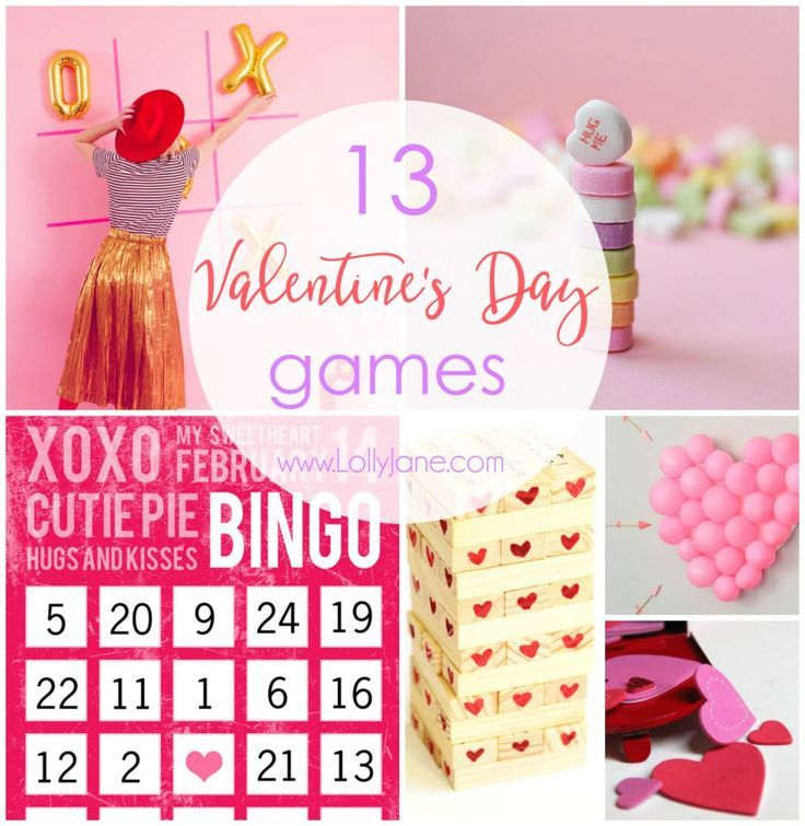 13 valentine's day games | gaming, easy and holidays, Ideas