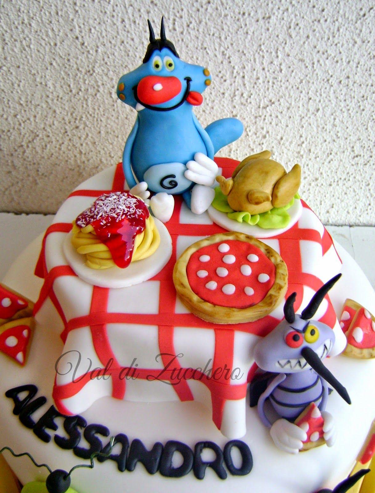Torta Compleanno Oggy E I Maledetti Scarafaggi.Oggy E I Maledetti Scarafaggi Cupcake Cakes Cakes For Boys Cake