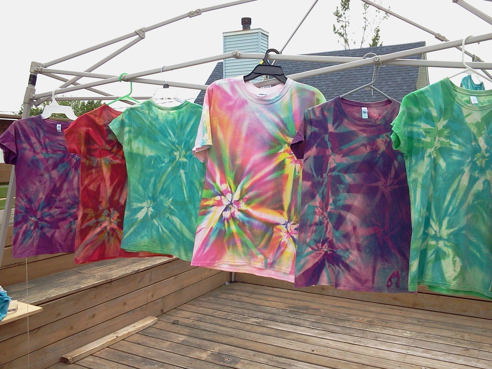 Check out the cool reverse tye dye reverse tye dye tye
