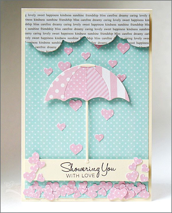 Baby or Wedding Shower Card for #LifestyleCrafts