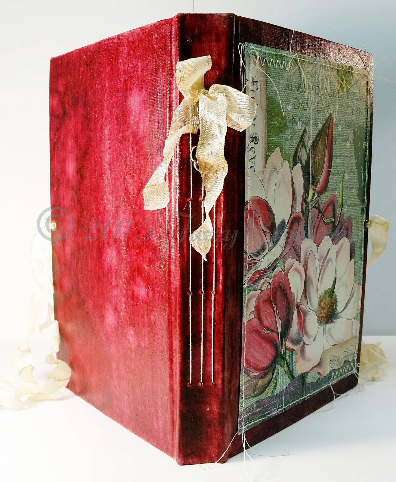 Jazzy Creations...: Creative Team Project for Ephemera's Vintage Garden~Junk Journal