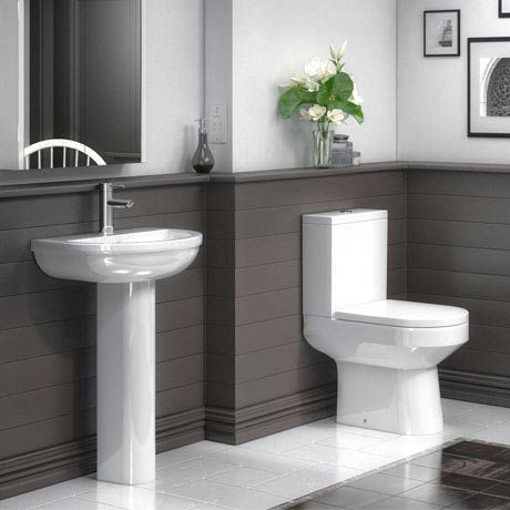 Metro 4 Piece Modern Bathroom Suite Victorian Plumbing Modern Toilet Modern Bathroom Bathroom Suite