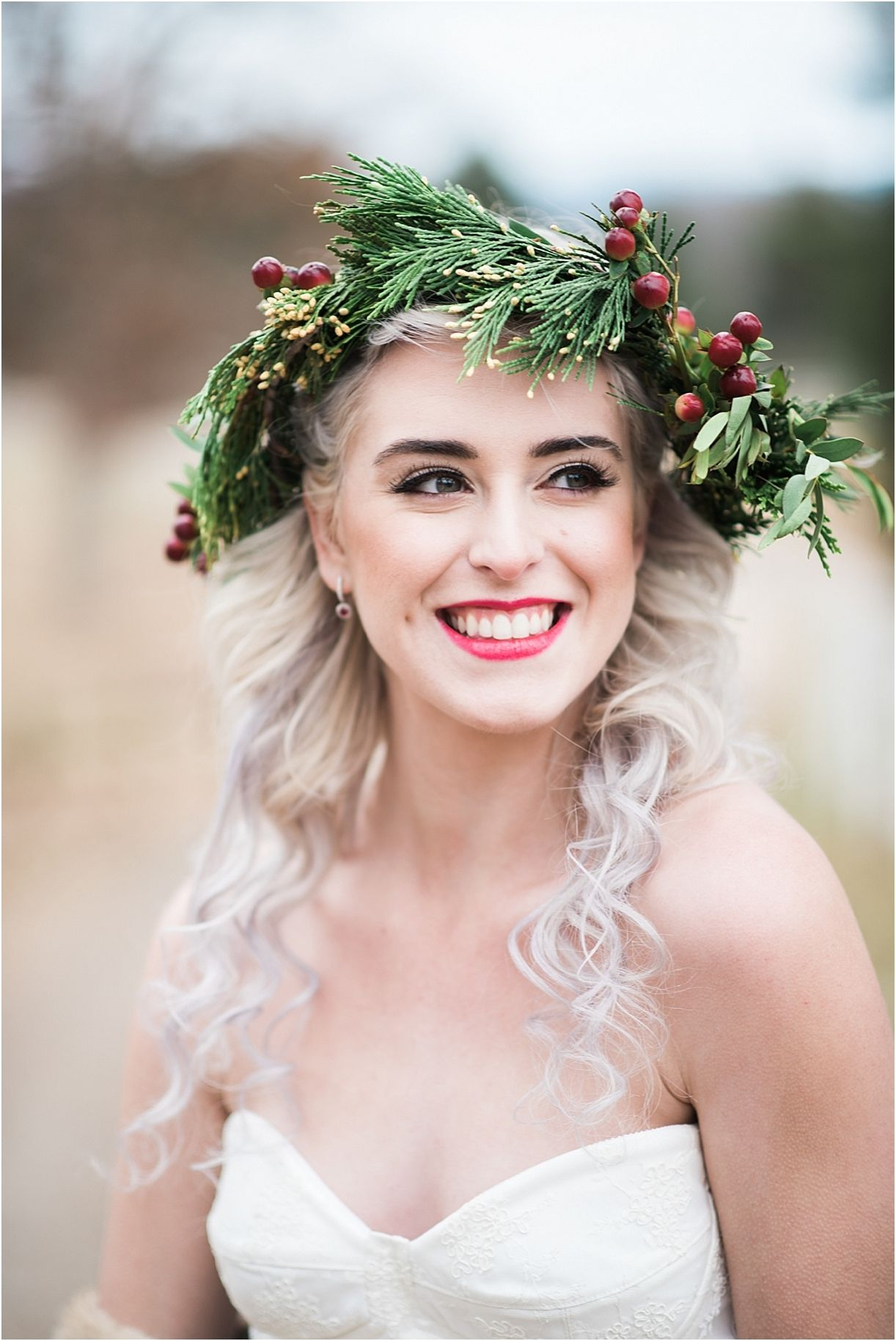 horses & hot cocoa winter bridal shoot | pinterest | hair makeup