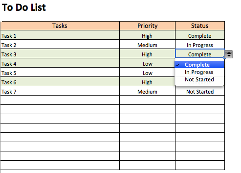 Free To Do List Templates In Excel Free To Do List To Do List To Do Checklist