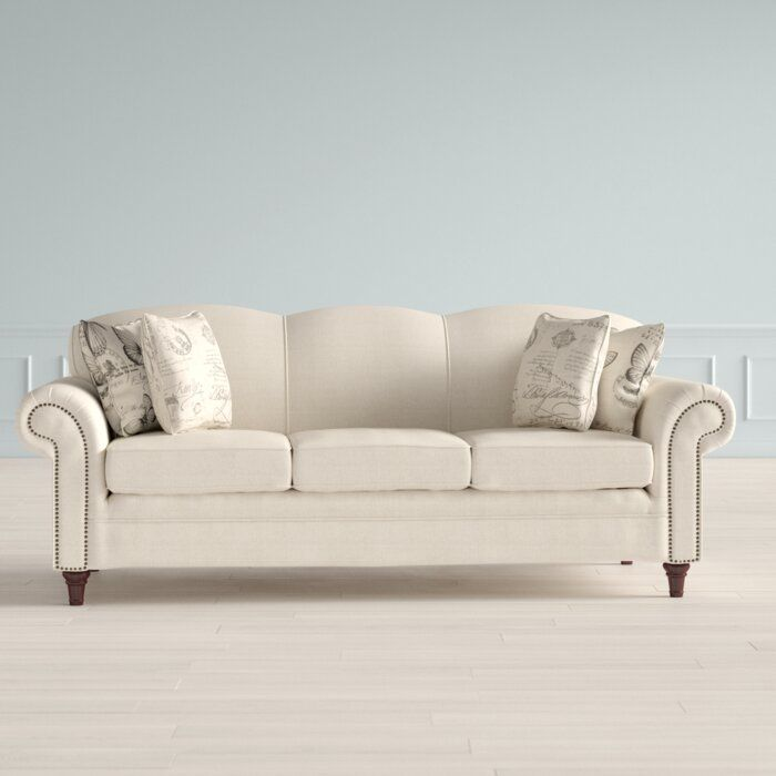 Best Axelle 89 5 Rolled Arm Sofa Sofa Living Room Designs 400 x 300