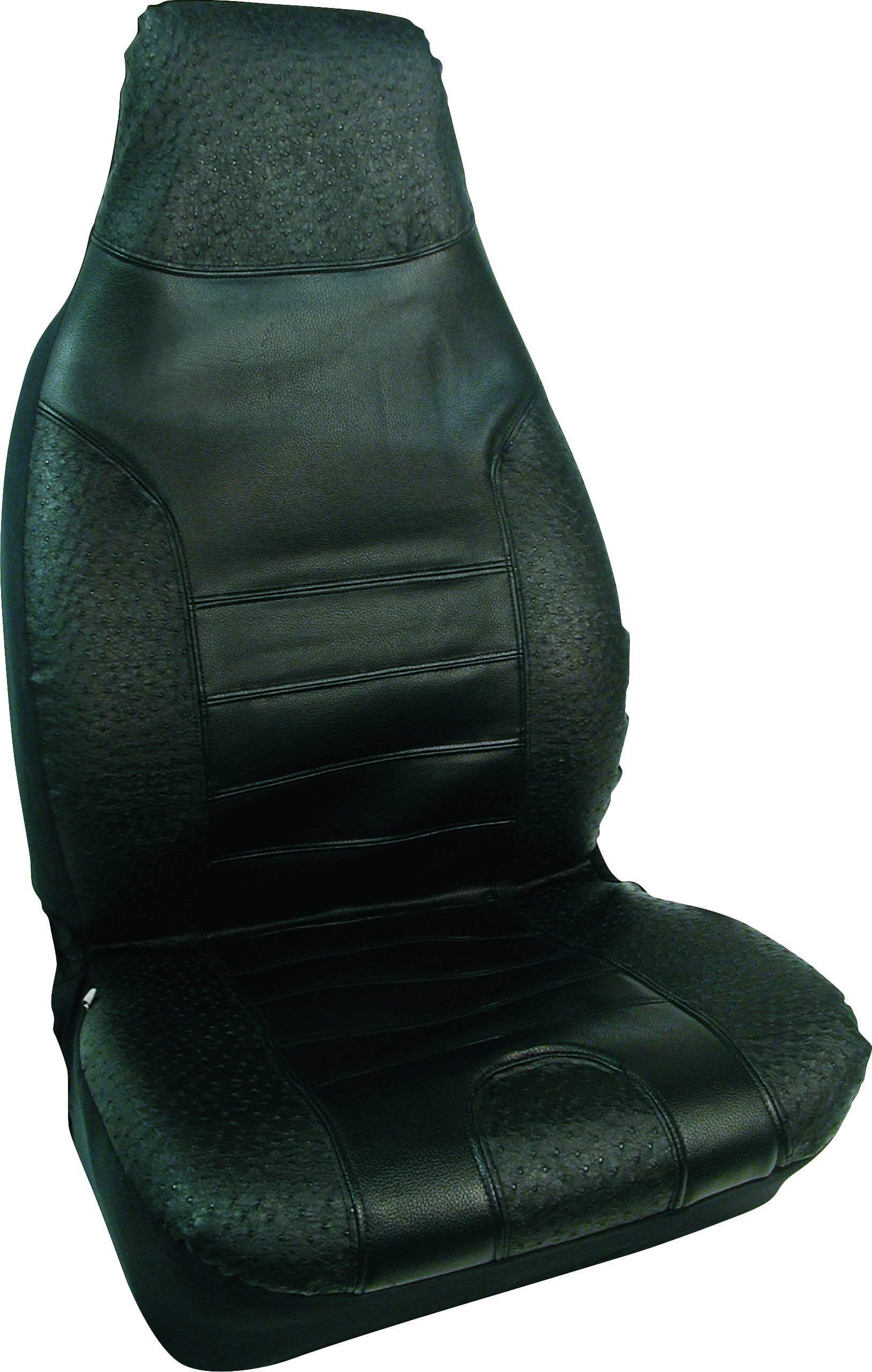 Bell Automotive 22 1 55441 8 Black Ostrich Seat Cover Click Image For More Details This Is An Affiliate Link Car Seats Seat Cover Carseat Cover